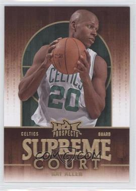 2008-09 Fleer Hot Prospects - Supreme Court #SC-2 - Ray Allen