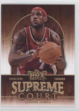 2008-09 Fleer Hot Prospects - Supreme Court #SC-4 - Lebron James