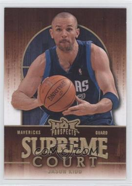 2008-09 Fleer Hot Prospects - Supreme Court #SC-5 - Jason Kidd