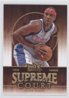 2008-09 Fleer Hot Prospects - Supreme Court #SC-9 - Elton Brand