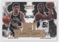 George Gervin, David Robinson