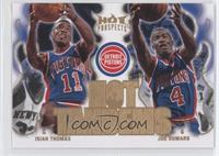 Isiah Thomas, Joe Dumars