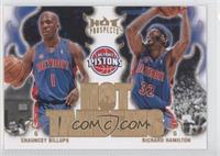 Chauncey Billups, Richard Hamilton