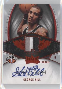 2008-09 Fleer Hot Prospects Red #127 - George Hill /25