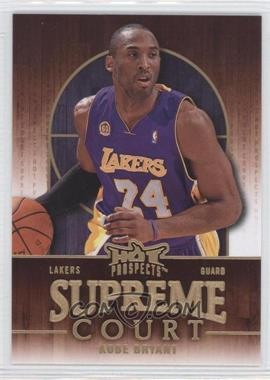 2008-09 Fleer Hot Prospects Supreme Court #SC-10 - Kobe Bryant