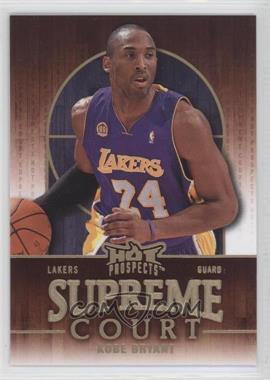 2008-09 Fleer Hot Prospects Supreme Court #SC-10 - Kobe Bryant