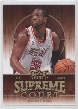 2008-09 Fleer Hot Prospects Supreme Court #SC-12 - Dwyane Wade