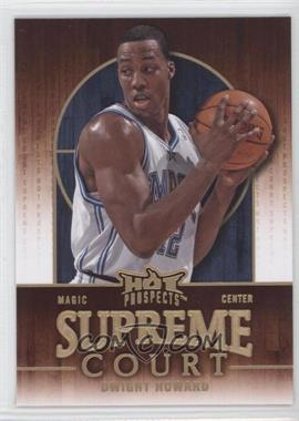 2008-09 Fleer Hot Prospects Supreme Court #SC-13 - Dwight Howard