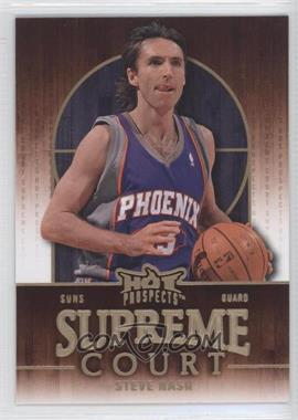2008-09 Fleer Hot Prospects Supreme Court #SC-15 - Steve Nash