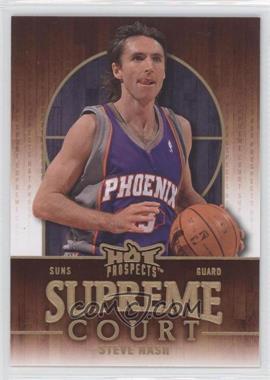 2008-09 Fleer Hot Prospects Supreme Court #SC-15 - Steve Nash