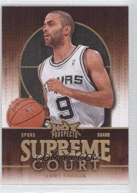 2008-09 Fleer Hot Prospects Supreme Court #SC-17 - Tony Parker