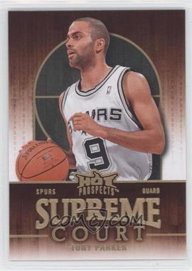 2008-09 Fleer Hot Prospects Supreme Court #SC-17 - Tony Parker