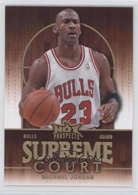 2008-09 Fleer Hot Prospects Supreme Court #SC-3 - Michael Jordan