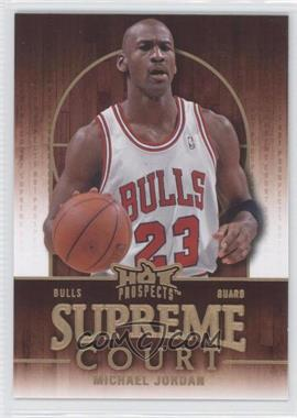 2008-09 Fleer Hot Prospects Supreme Court #SC-3 - Michael Jordan