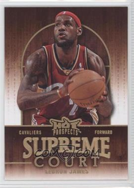 2008-09 Fleer Hot Prospects Supreme Court #SC-4 - Lebron James