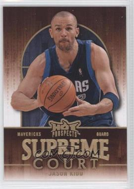 2008-09 Fleer Hot Prospects Supreme Court #SC-5 - Jason Kidd /499