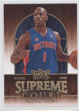 2008-09 Fleer Hot Prospects Supreme Court #SC-6 - Chauncey Billups