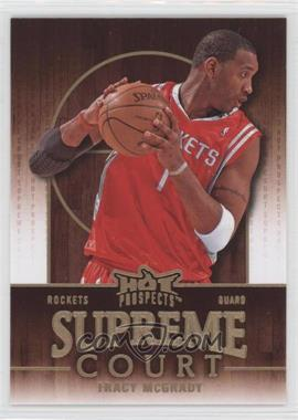 2008-09 Fleer Hot Prospects Supreme Court #SC-8 - Tracy McGrady