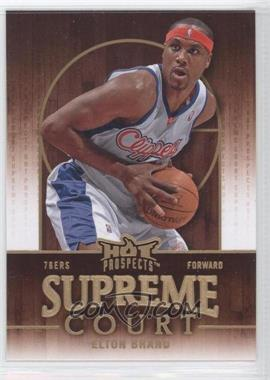 2008-09 Fleer Hot Prospects Supreme Court #SC-9 - Elton Brand