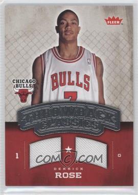 2008-09 Fleer Throwback Classics Memorabilia #NBA-DR - Derrick Rose