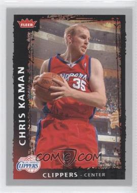 2008-09 Fleer #177 - Chris Kaman