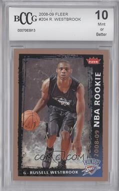 2008-09 Fleer #204 - Russell Westbrook [ENCASED]
