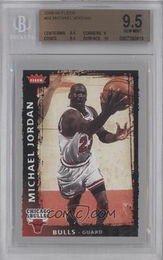 2008-09 Fleer #68 - Michael Jordan [BGS9.5]