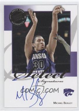 2008-09 Press Pass Legends - Select Signatures #SS-MB.1 - Michael Beasley (Blue Ink)