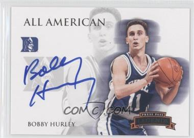 2008-09 Press Pass Legends All American Autograph [Autographed] #AA-BH - Bobby Hurley /195