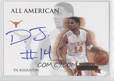 2008-09 Press Pass Legends All American Autograph [Autographed] #AA-DA - D.J. Augustin /105