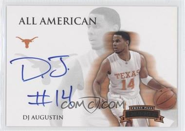 2008-09 Press Pass Legends All American Autograph [Autographed] #AA-DA - D.J. Augustin /105