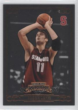2008-09 Press Pass Legends Bronze #24 - Brook Lopez /750