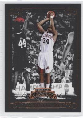 2008-09 Press Pass Legends Bronze #37 - Corliss Williamson /750