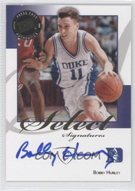 2008-09 Press Pass Legends Select Signatures #SS-BH - Bobby Hurley