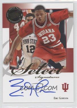 2008-09 Press Pass Legends Select Signatures #SS-EG - Eric Gordon