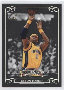 2008-09 Press Pass Legends Silver #4 - DeVon Hardin /199