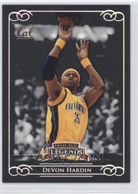 2008-09 Press Pass Legends Silver #4 - DeVon Hardin /199