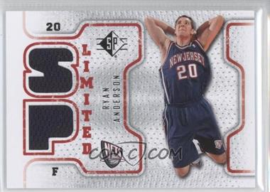 2008-09 SP - Retail Limited #SPL-RA - Ryan Anderson