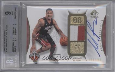 2008-09 SP Authentic - [Base] #107 - Michael Beasley /299 [BGS 9]
