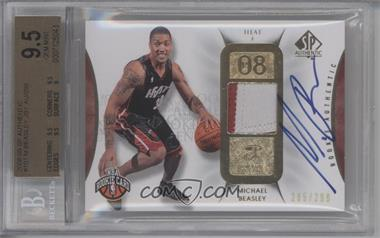 2008-09 SP Authentic - [Base] #107 - Michael Beasley /299 [BGS 9.5]
