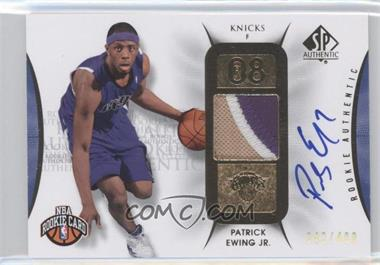 2008-09 SP Authentic - [Base] #112 - Patrick Ewing /499