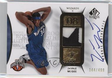 2008-09 SP Authentic - [Base] #128 - JaVale McGee /499