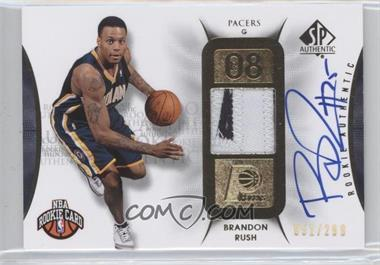2008-09 SP Authentic - [Base] #131 - Brandon Rush /299