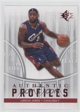 2008-09 SP Authentic Profiles - Retail [122916] #AP-24 - Lebron James