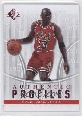 2008-09 SP Authentic Profiles Retail [122916] #AP-10 - Michael Jordan