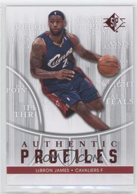 2008-09 SP Authentic Profiles Retail [122916] #AP-24 - Lebron James