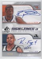 Raymond Felton, Randy Foye /50