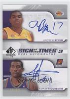 Andrew Bynum, Amare Stoudemire /50