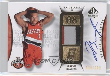 2008-09 SP Authentic #106 - Jerryd Bayless /299