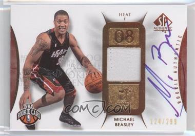 2008-09 SP Authentic #107 - Michael Beasley /299